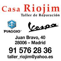 Taller de Vespa en Madrid - Casa Riojim - Vespania